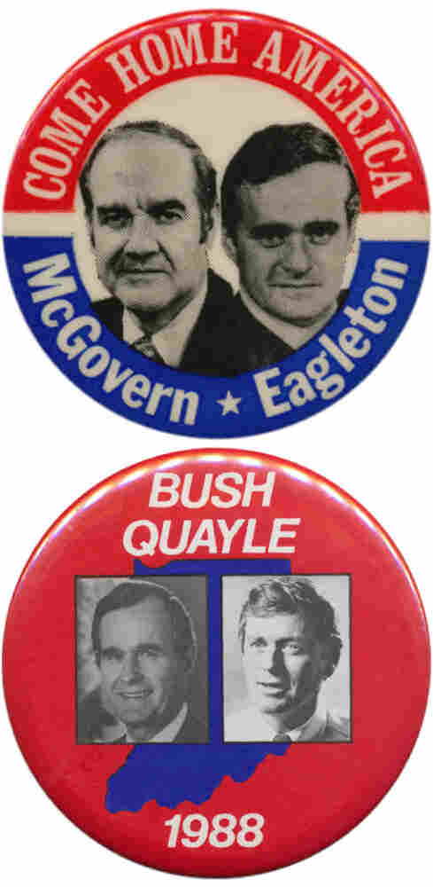 I actually picked Eagleton in '72.  And Quayle in '88.  But I was wrong on nearly every other one.