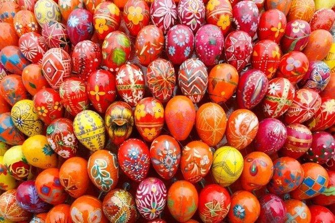 behold ukrainian easter inedible eggs the salt