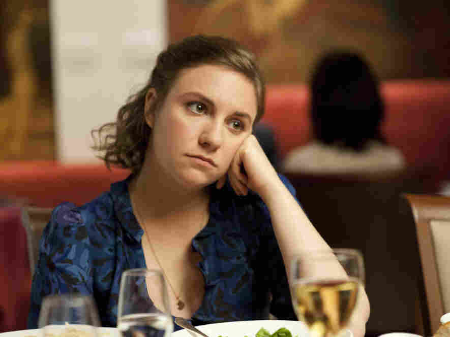 Lena Dunham stars in HBO's new series, Girls, premiering April 15.