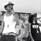 Raka Dun (left) and Raka Rich of the Oakland, Calif., duo Los Rakas.
