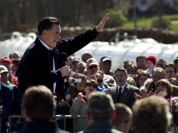 Mitt Romney's suspension of negative ads against Rick Santorum shouldn't hurt and could help the former Massachusett governor's likeability ratings.