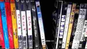 Titanic on DVD.