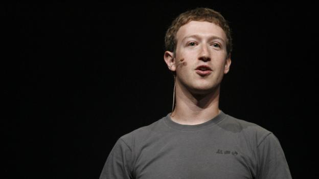 Facebook CEO Mark Zuckerberg. (AFP/Getty Images)