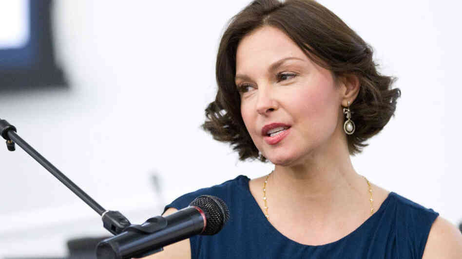 Ashley Judd attends Ashley Judd in Conversation with the United Nations Office on Drugs and Crime at the United Nations last month in New York City.
