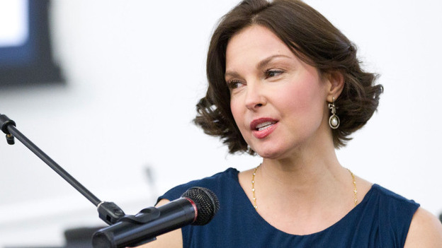 Ashley Judd attends Ashley Judd in Conversation with the United Nations Office on Drugs and Crime at the United Nations last month in New York City.  (Getty Images)