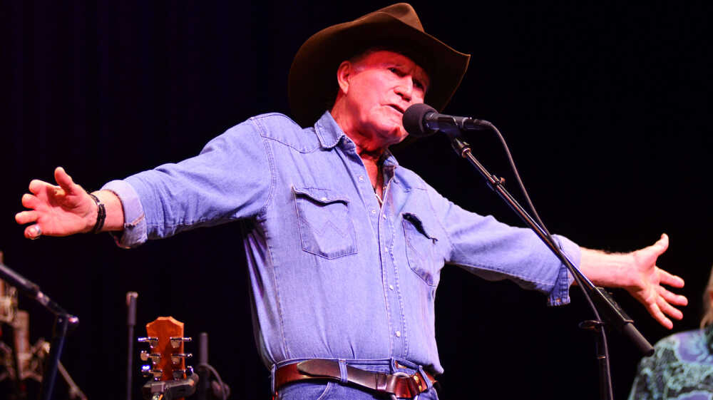 Billy Joe Shaver On Mountain Stage