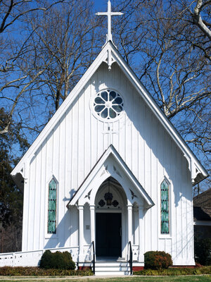 Tale Of Two Churches: The St. Stephen's Church in Heathsville, Va., has been at the center of an ugly custody battle between the St. Stephen's Episcopal Church and the newly affiliated St. Stephen's Anglican Church.