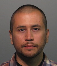 George Zimmerman's booking photo after being charged with second-degree murder in the shooting of Trayvon Martin.