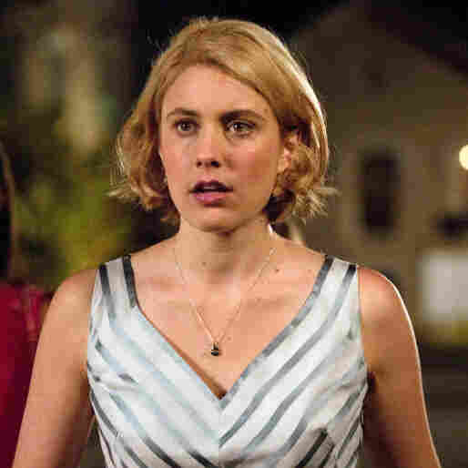 "Greta Gerwig (center) tells NPR's Robert Siegel that she doesn't mind being called ""Hollywood's indie darling"" — as long as she can keep making movies the way she wants."