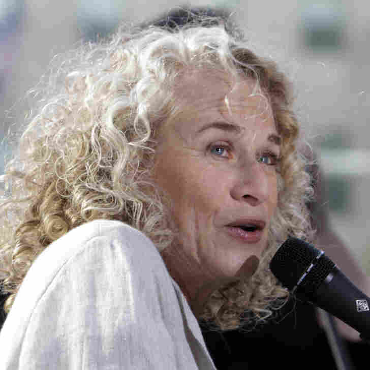 For Carole King, Songwriting Is A 'Natural' Talent