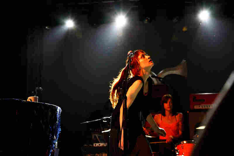 Fiona Apple plays NPR's SXSW showcase at Stubb's on Wednesday evening in Austin.