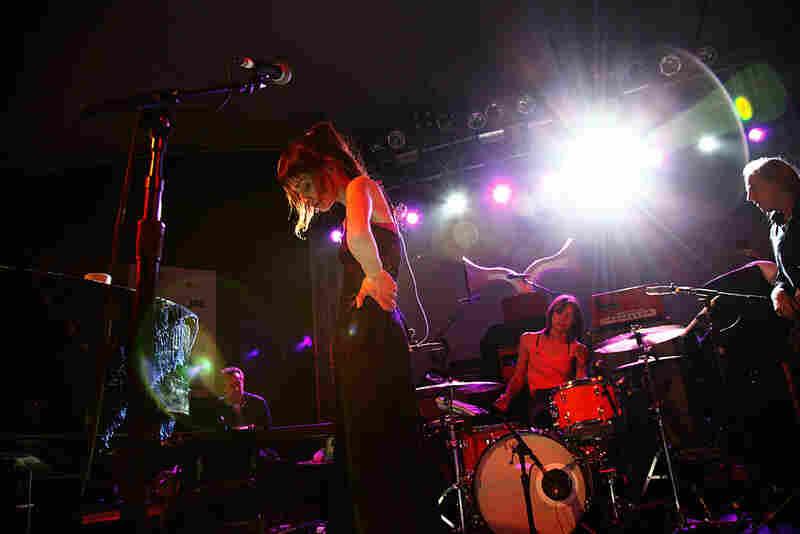 Fiona Apple plays NPR's SXSW showcase at Stubb's on Wednesday evening in Austin.