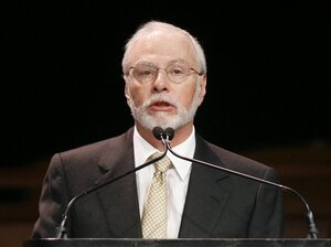 Hedge fund manager Paul Singer of Elliott Management has donated $1 million to Mitt Romney's superPAC.