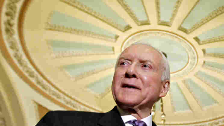 Sen. Orrin Hatch, R-Utah, at the U.S. Capitol on March 15, 2012.