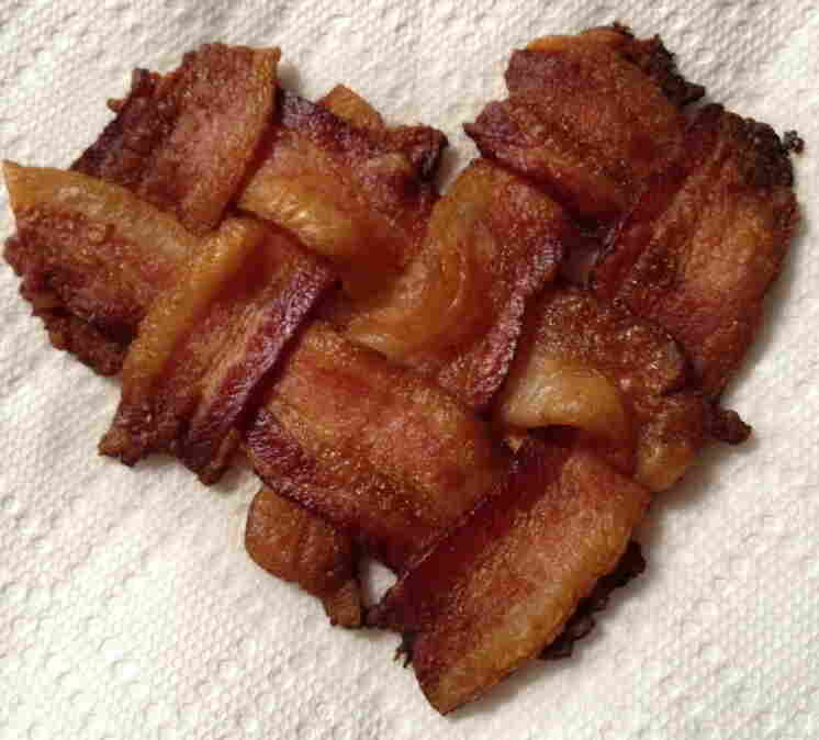 A valentine to bacon.