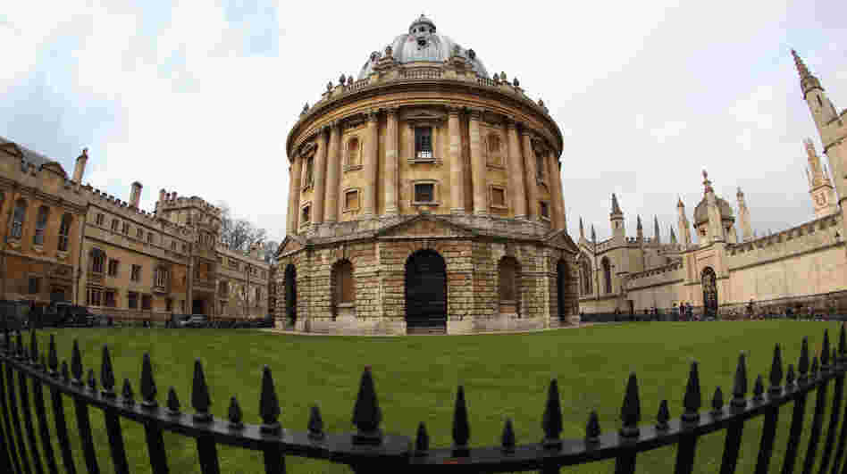 A general view of the Radcliffe Camera building, part of the Bodleian Library, in Oxford, England. Along with the Vatican, the library is launching a project to digitally scan rare texts and put them online.
