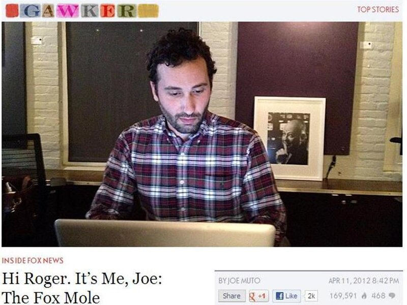 Fox Mole' At Gawker Is Revealed, Fired : The Two-Way : NPR