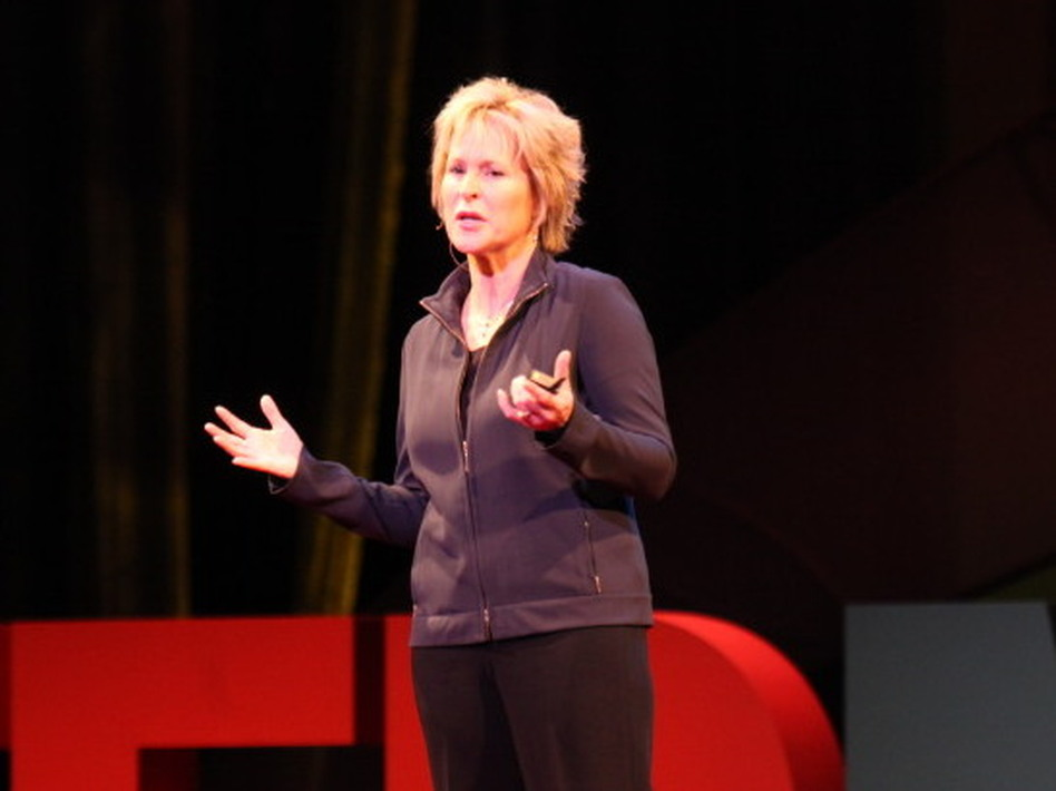 """Caltech's Frances Arnold says, """"I have fun forcing molecules to have sex."""" (TEDMED)"""