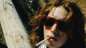 Seen here in a self-portrait, Patty Schemel, drummer for the '90s alternative rock band Hole, faced some of the same challenges of sudden fame and drug addiction as bandmate Courtney Love.