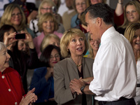 Mitt Romney may not be able to single-handedly close the gender gap that favors Democrats. But narrowing the divide could help him win the White House.
