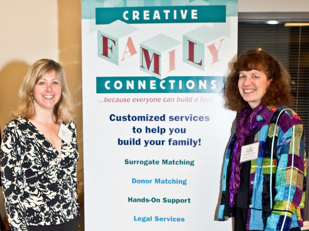 Creative Family Connections founder Diane Hinson (right) and current partner Linda ReVeal (left) have been working together since the organization's 2001 inception.