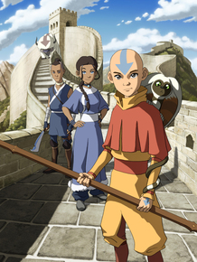 Sokka (from left), Katara and Aang from Avatar: The Last Airbender. Creators Bryan Konietzko and Michael DiMartino have set Korra 70 years after the original series.