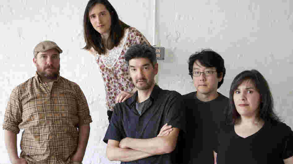 Stephin Merritt (far left) has led The Magnetic Fields since the early 1990s, with a songwriting style that ranges from sincere to bitter to ironic.