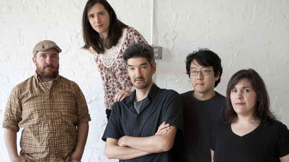Stephin Merritt (far left) has led The Magnetic Fields since the early 1990s, with a songwriting style