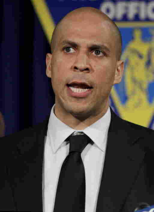 Newark Mayor Cory Booker.