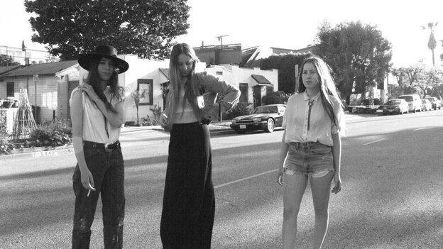 The Haim sisters are Danielle, Este and Alana.