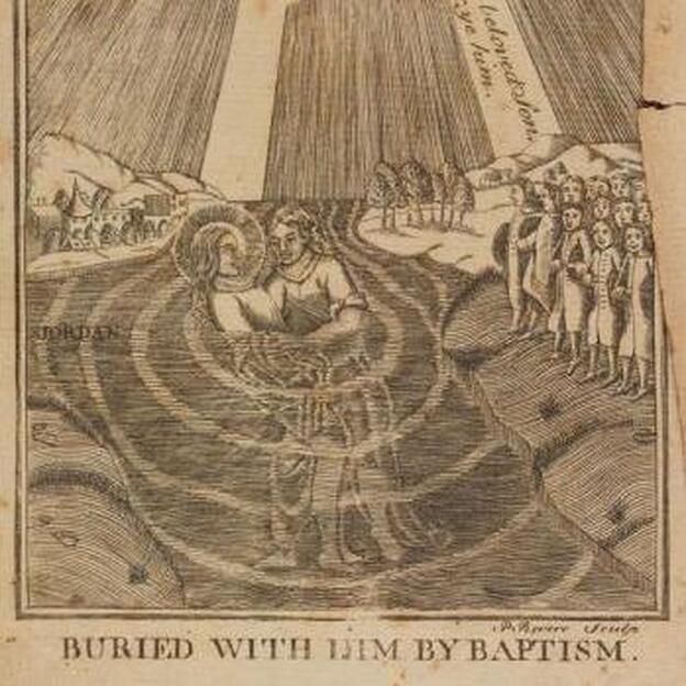 A rare engraving by Paul Revere surfaced recently in a library at Brown University, where it had been nestled in the pages of a book for centuries. (Brown University )