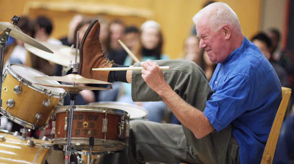 The Jazz Drummer Who Makes Music Out Of Everything