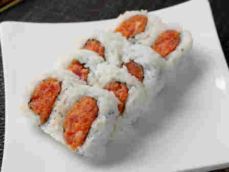 Spicy tuna roll, or spicy tuna goo?