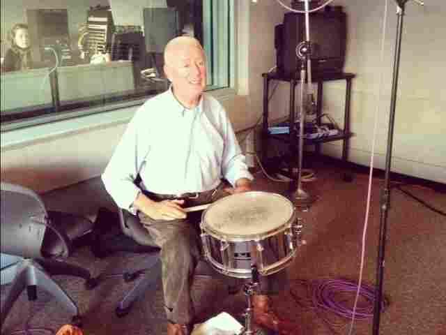 Han Bennink performs in the Fresh Air studio.