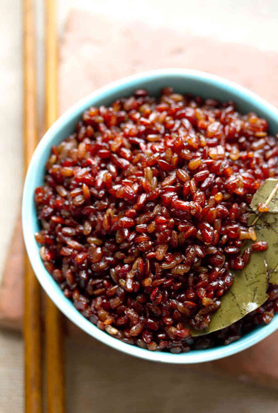 Bhutanese Red Rice Pilaf