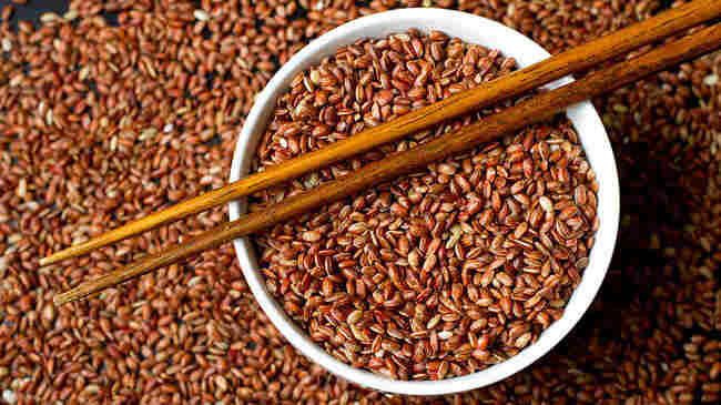 Red Bhutanese rice