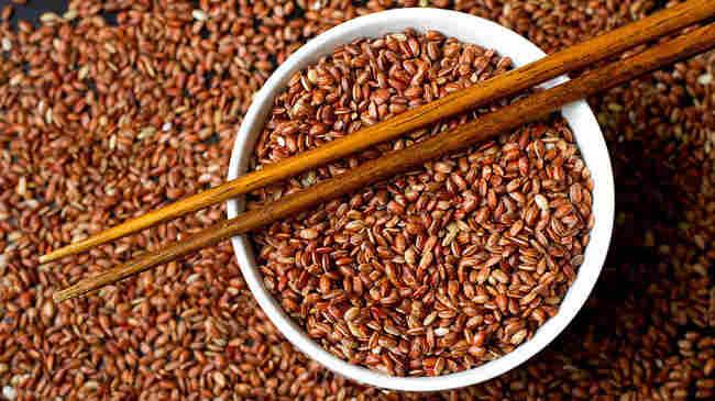 Red Bhutanese rice