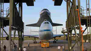 Aboard 747, Space Shuttle Discovery To Make Final Flight