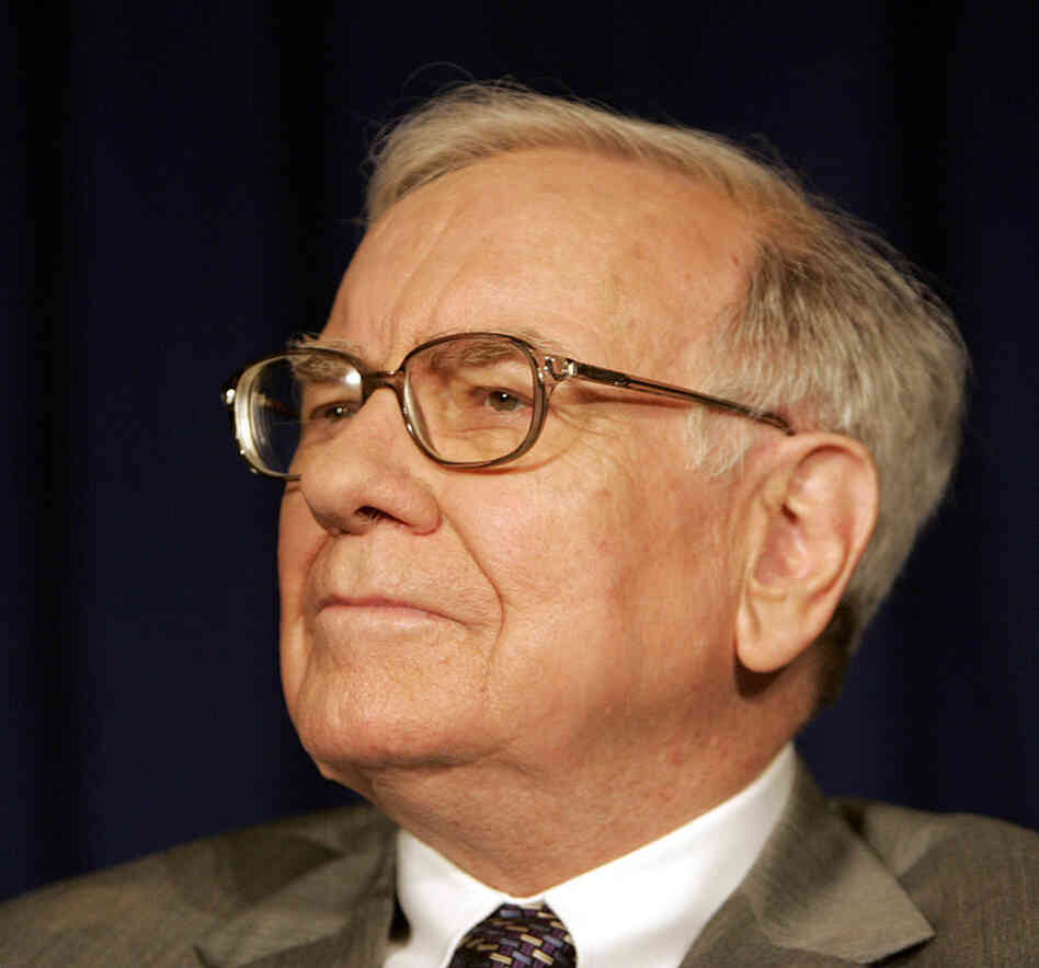 Warren Buffett : NPR