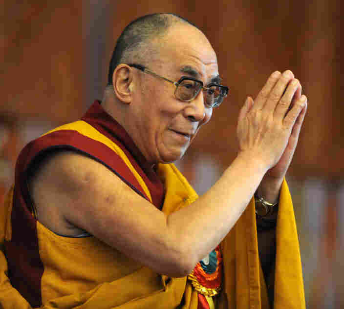 Tibetan spiritual leader the Dalai Lama.