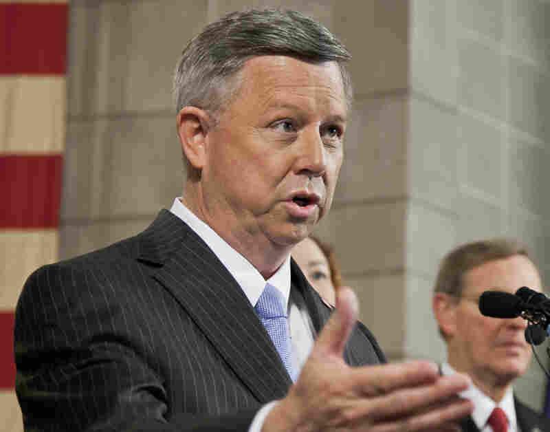 Nebraska Gov. Dave Heineman vetoed a bill that would spend government funds on prenatal care to illegal immigrants. He has that service for illegal immigrants should be provided by churches and private organizations, not with taxpayer money.