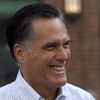 Republican presidential candidate Mitt Romney on Monday in Boston.
