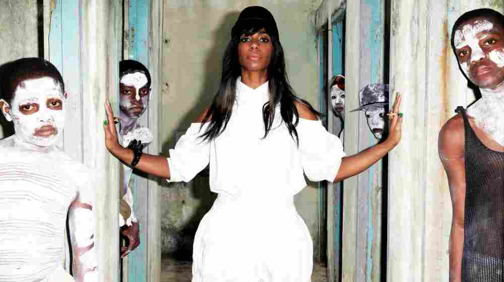 Santigold's new album, Master Of My Make-Believe, comes out May 1.