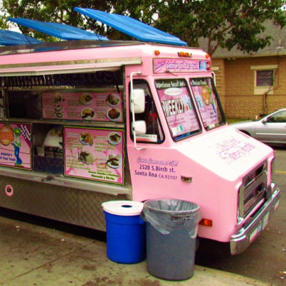Alebrije's Grill, a taco truck that can be found roaming the streets of Santa Ana, Calif.