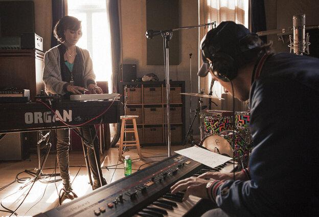 Cat Martino and Sufjan Stevens creating the song 'I Promise'