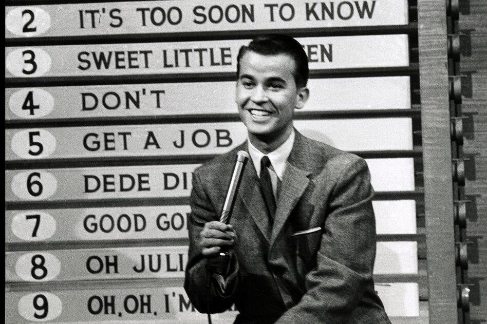 Legendary tv show dick clark 1950
