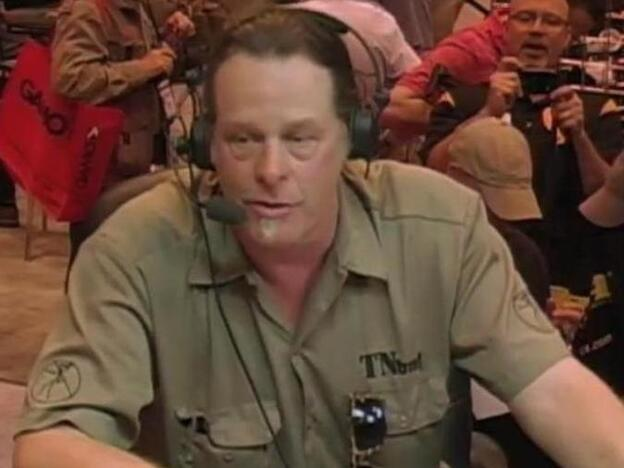 Ted Nugent, during his appearance at the NRA convention over the weekend in St. Louis.