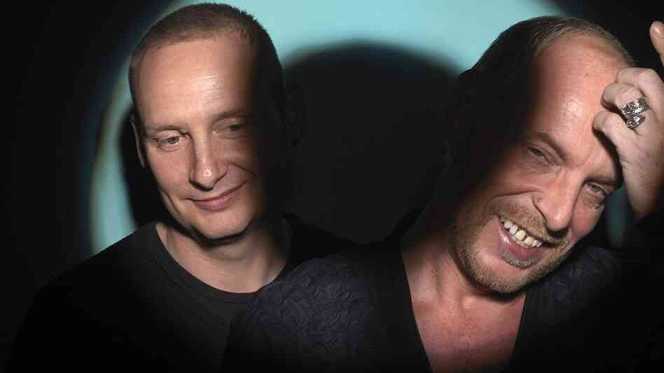 Orbital is, from left to right, Paul and Phil Hartnoll.