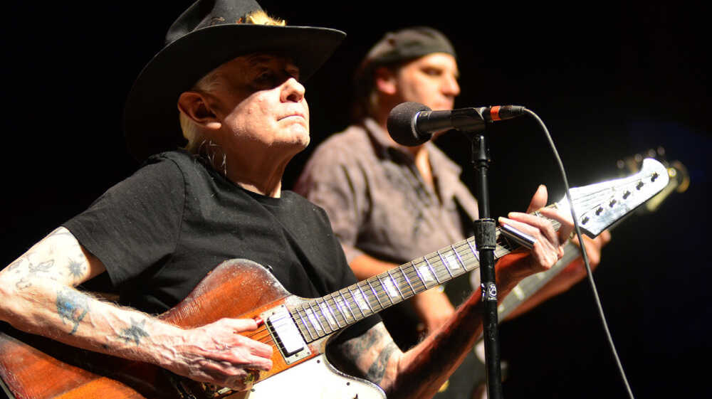 Johnny Winter On Mountain Stage