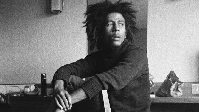Bob Marley's phenomenal popularity introduced much of the world to both reggae music and the Rastafarian faith. Magnolia Pictures hide caption